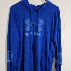 Under Armour long sleeve tshirt hoodie